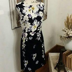 Ralph Lauren Floral Stretch dress, size 12P